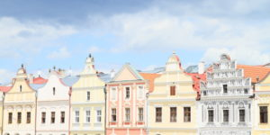 Renaissance houses in Telc