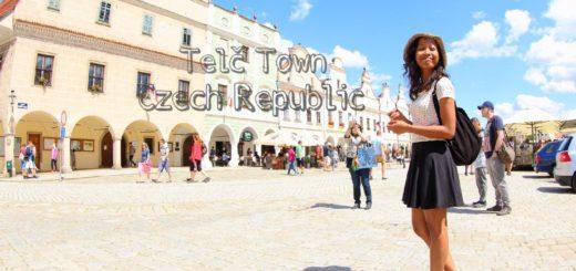 Telc Town Czech Republic