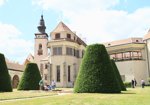 Chapel of castle in Telc