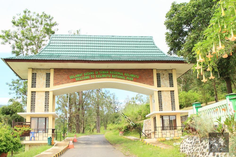 The entrance to Kelimutu