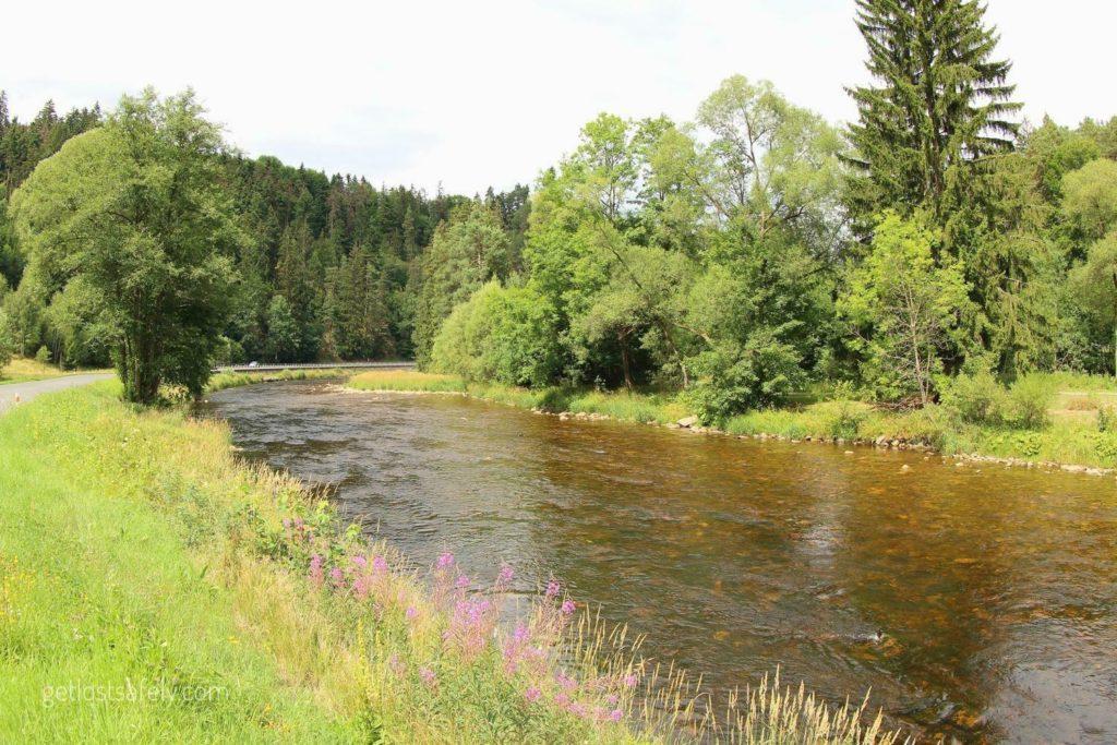 Otava river czechia