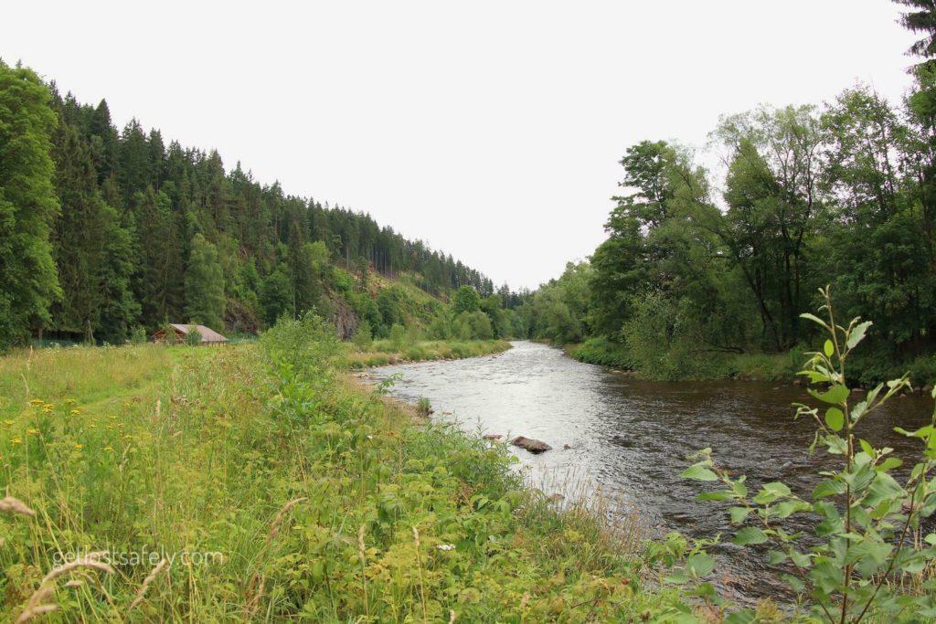 Otava river rejstejn