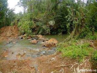 Aliran sungai Cunca Rami