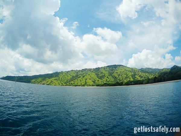 Komodo Island and the cloud