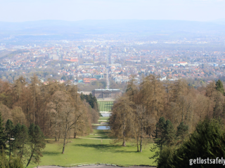 Kassel from Hercules Monument