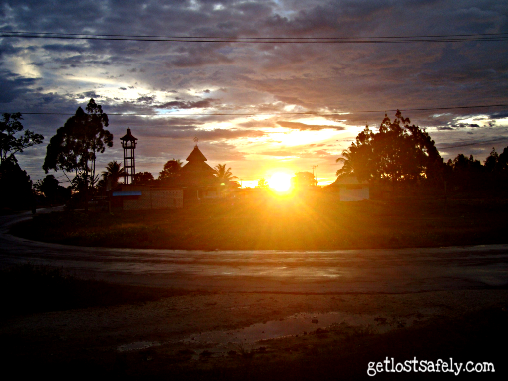 Sunset Biak