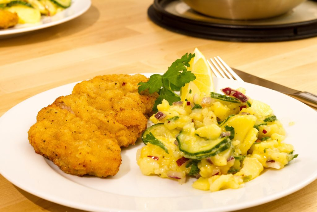 schnitzel-and-potato-salad