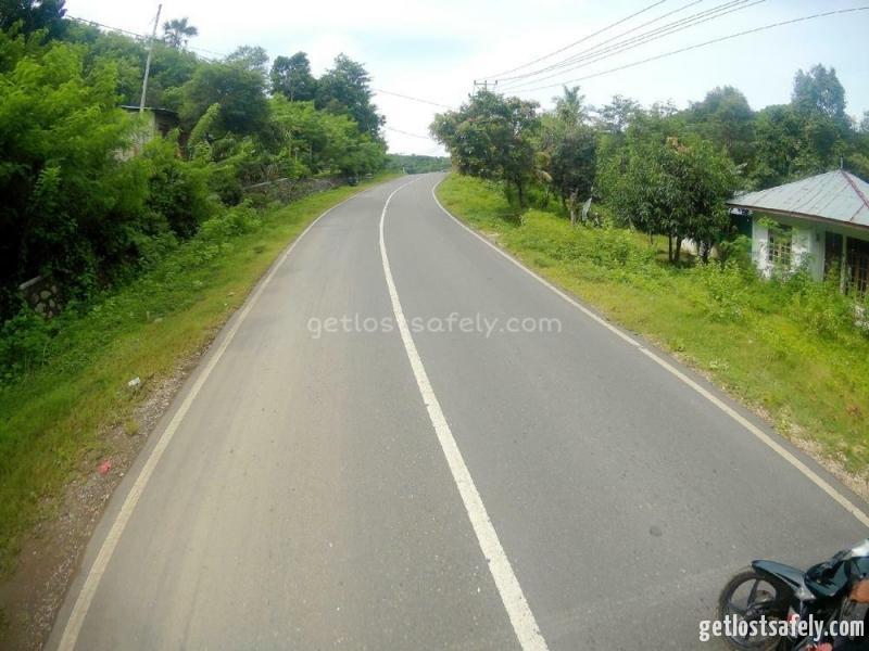 Driving to Cunca Rami