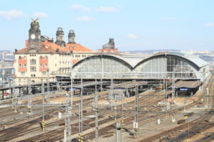 Prague main railway station