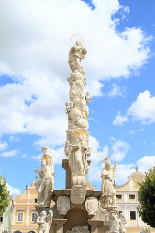 Plague Column in Telc