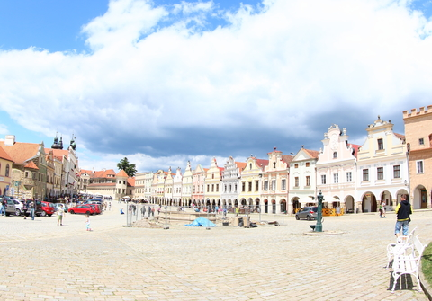 Colorful Houses, Telc