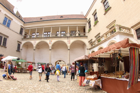 Market at Telc Castle, Czech Republic