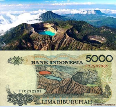 Old Indonesian Banknote