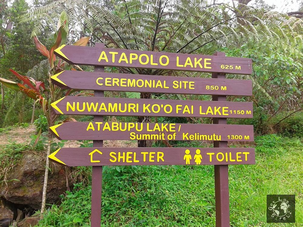 Information Board Kelimutu