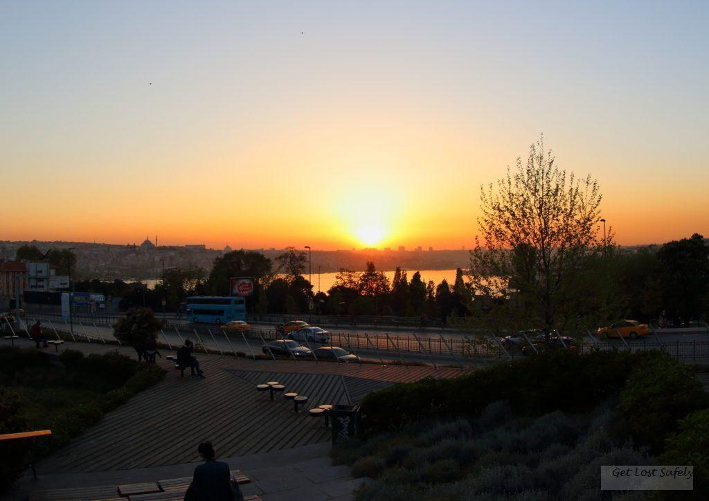 Sunset Istanbul, Turki