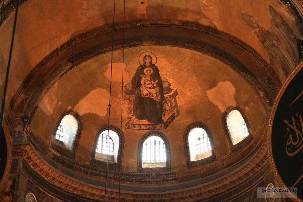 Hagia Sophia's ceiling