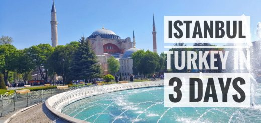 Istanbul Turkey in 3 Days