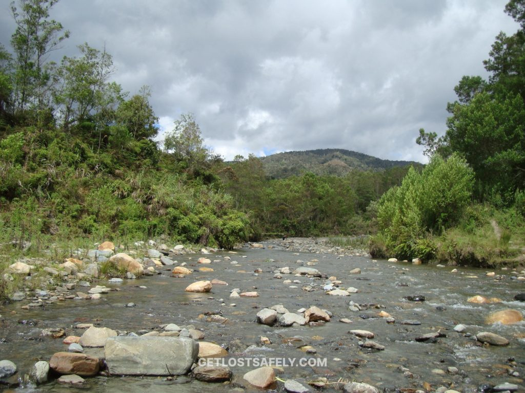 Mysterious river flowing in highland Anggi, Arfak Mountains West Papua
