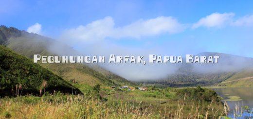 Pegunungan Arfak di Papua Barat